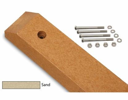 Lawn Mounting Post Kit Sand