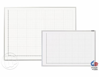 """Line Graph Whiteboards 32"""" x 45.5"""""""