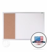 Magnetic Cork Whiteboard