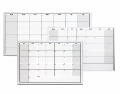 Magnetic One Month Calendar