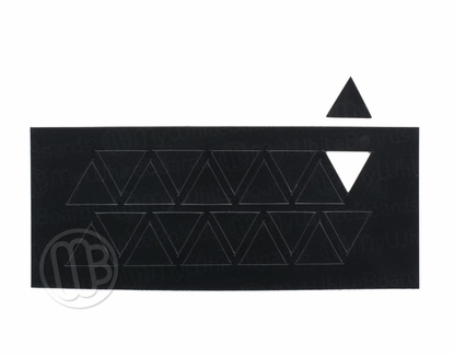 "Magnetic Shapes 3/4"" Triangles Black"