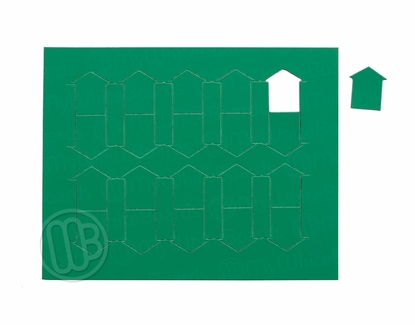 """Magnetic Shapes 3/4"""" Triangles Green"""
