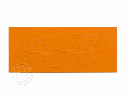 "Magnetic Shapes 3/4"" Triangles Orange"