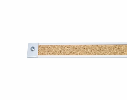 Map and Display Rail Accessories End Plates - Set of 6