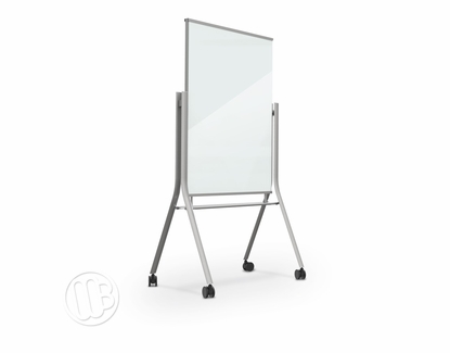 Mobile Magnetic Glass Whiteboard