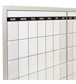 Non-Magnetic Dry Erase Calendars