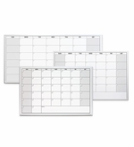 One Month Dry Erase Calendar Options