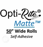 Opti-Rite Matte Self-Adhesive Custom Length