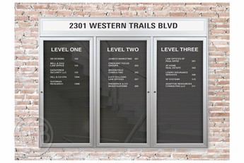 Outdoor Letter Boards