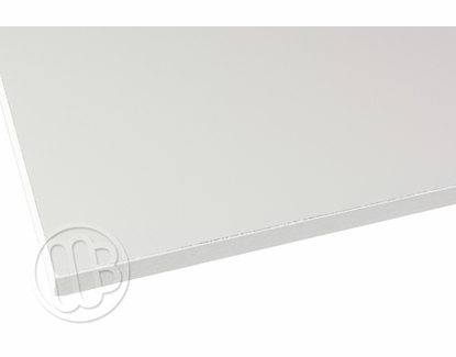 Painted Edge Marker Boards 4' H x 10' W Rounded Corners