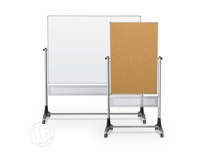 "Platinum Magnetic Cork Whiteboard 40"" High x 30"" Wide"
