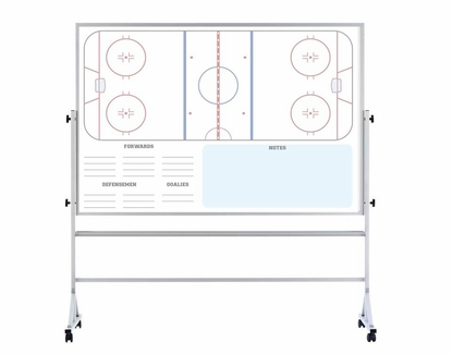 Portable Dry Erase Ice Hockey Board