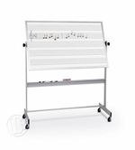Portable Dry Erase Music Staff
