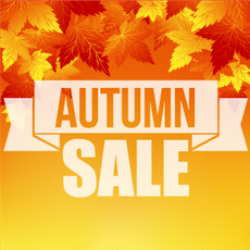 Autumn Sale, Prices are Falling!