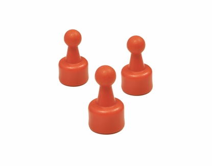 Push Pin Magnets Red