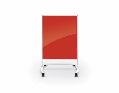 Red 4x3 Portable Glass Board