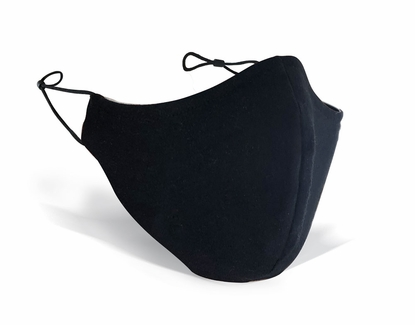 Reusable & Adjustable Face Masks in Black