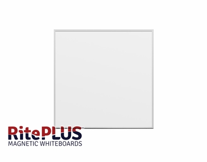 4' Tall x 4' W RitePlus® Magnetic Dry Erase Boards