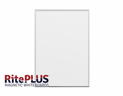 "45.5"" Tall x 32"" W RitePlus® Magnetic Dry Erase Boards"