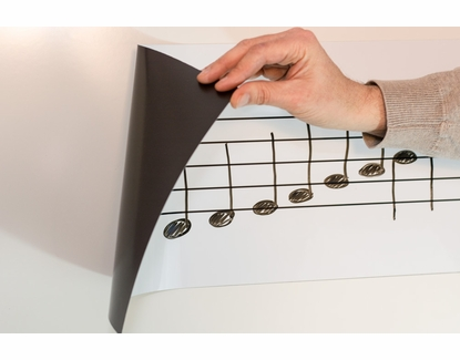"""92.5"""" Wide Roll-Up Music Magnet"""