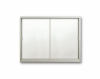 Sliding Glass Enclosed Whiteboards 36 T x 48 W