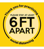 Covid-19 Floor Signs | Social Distancing Floor Signs | Corona Floor Signs
