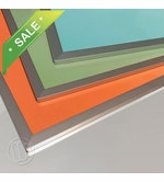 Sunburst Colored Dry Erase Boards No Tray