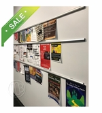 Tackless Paper Display Rails