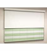 The HideAway® Whiteboard Privacy Screen
