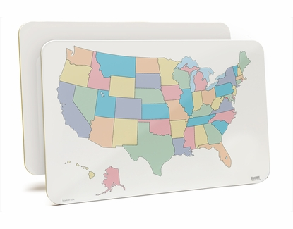 U.S. Lap Board11x17 Without States