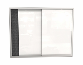 Visionary Sliding Glass Door Cabinet