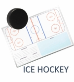 Wall Mounted Hockey Dry Erase Boards