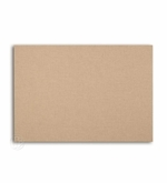 Wrapped Edge Burlap Covered Bulletin Board