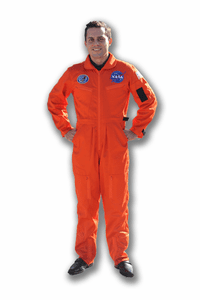 Adult Shuttle Flight Suits Orange or Blue