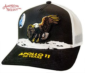 Apollo 11 50 year commemorative hat.