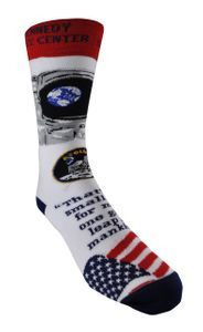 Apollo 11 Anniversary Crew Sock