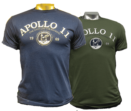 Apollo 11 One Giant Leap For Mankind Tee