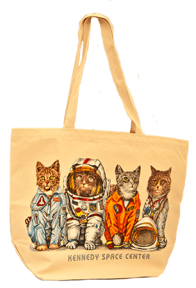 Astro Cats Totes