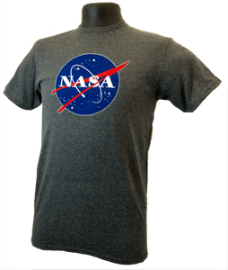 Classic NASA T-shirt Charcoal