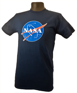 Classic NASA T-shirt Navy