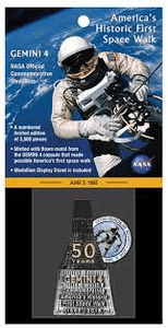 Gemini 4 Commemorative Medallion