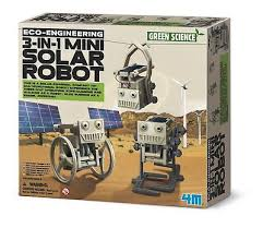 Green Science 3 in 1 Solar Robot
