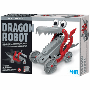 Green Science Dragon Robot