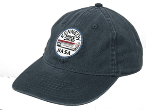 Kennedy Space Center Shuttle Patch Hat Indigo