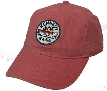 Kennedy Space Center Shuttle Patch Hat Nantucket Red