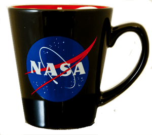 NASA Meatball Mug w/ American Flag Inside
