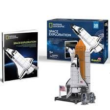 National Geographic 3-D Puzzle Space Exploration