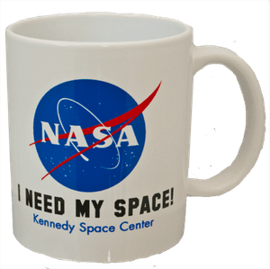 I Need My Space NASA Meatball Mug