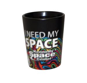 I Need My Space Mosaic Shot Glass