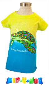 Iridescent Spangle Turtle Tee
